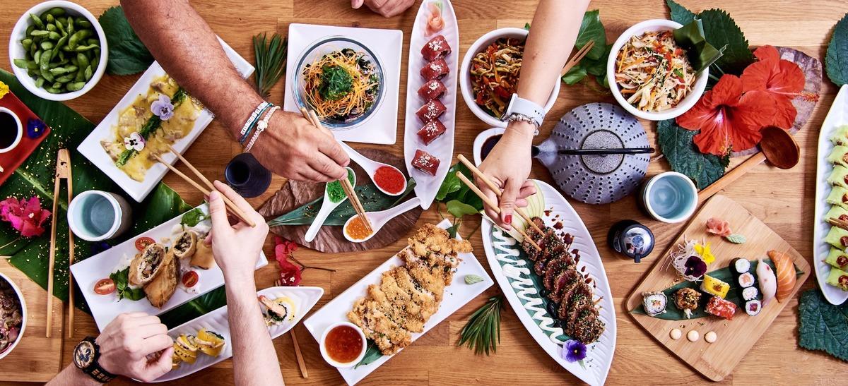 Manger japonais dans le quartier Croix Daurade