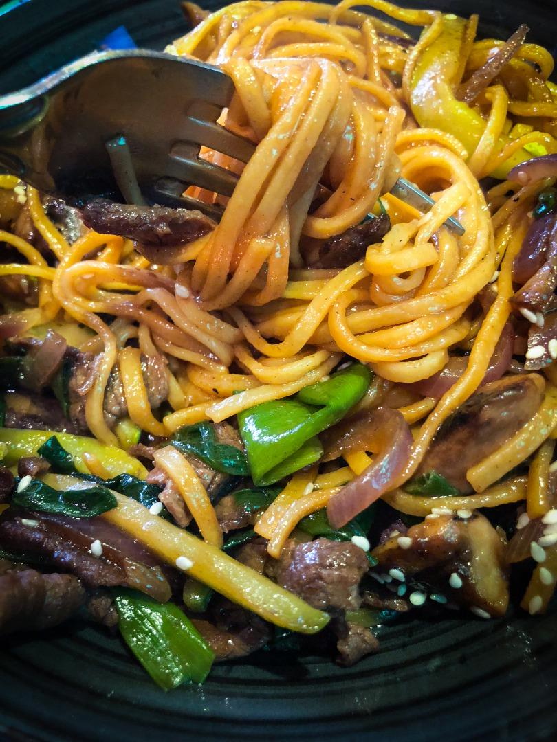 Manger végétarien dans un resto vietnamien